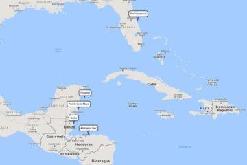 Carnival 7-day cruiseto Cozumel, Belize, Mahogany Bay& Costa Maya route