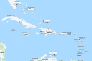 8-day Carnival cruise fromPort Evergladesto Half Moon Cay, Grand Turk, Aruba & Curaçao route