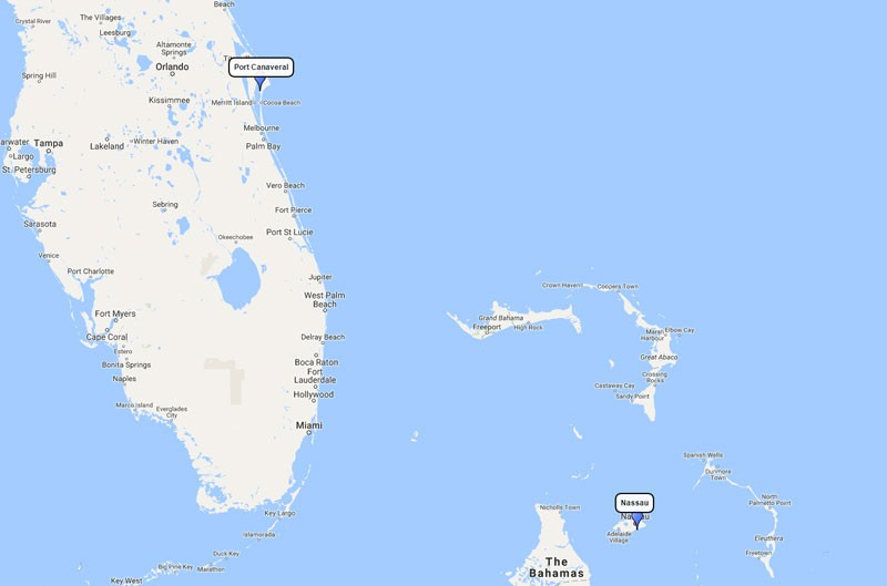 Carnival Liberty, Bahamas cruise from Port Canaveral