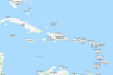 Southern Caribbean cruise to St. Croix, Antigua, Barbados, St. Lucia, Grenada, Roseau and St. Kitts