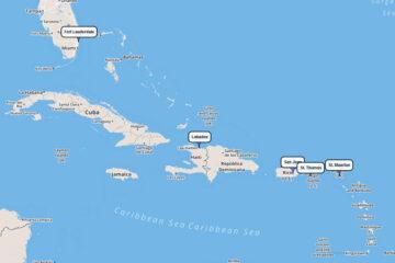 8-day cruisetoLabadee, San Juan, St. Thomas, St. Johns & St. Kitts, St. Maarten