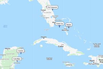 10-day cruise to Nassau, Ocean Cay, Costa Maya & Cozumel