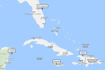 Roayal Caribbean 7-day cruisetoLabadee, Falmouth & Cozumel route