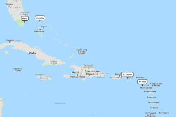 Royal Caribbean 7-day cruise to St. Kitts, St. Thomas & CocoCay route