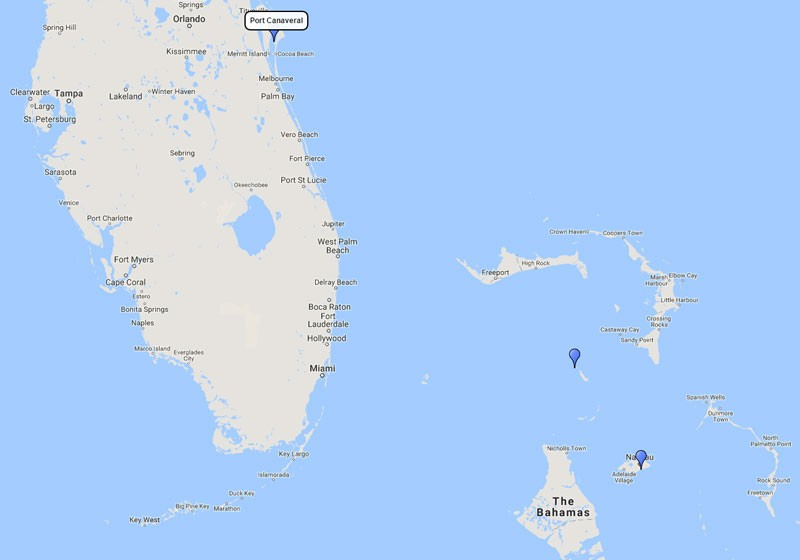 Day Weekend Or Short Cruises From Port Canaveral Orlando Florida - Weekend cruises from florida
